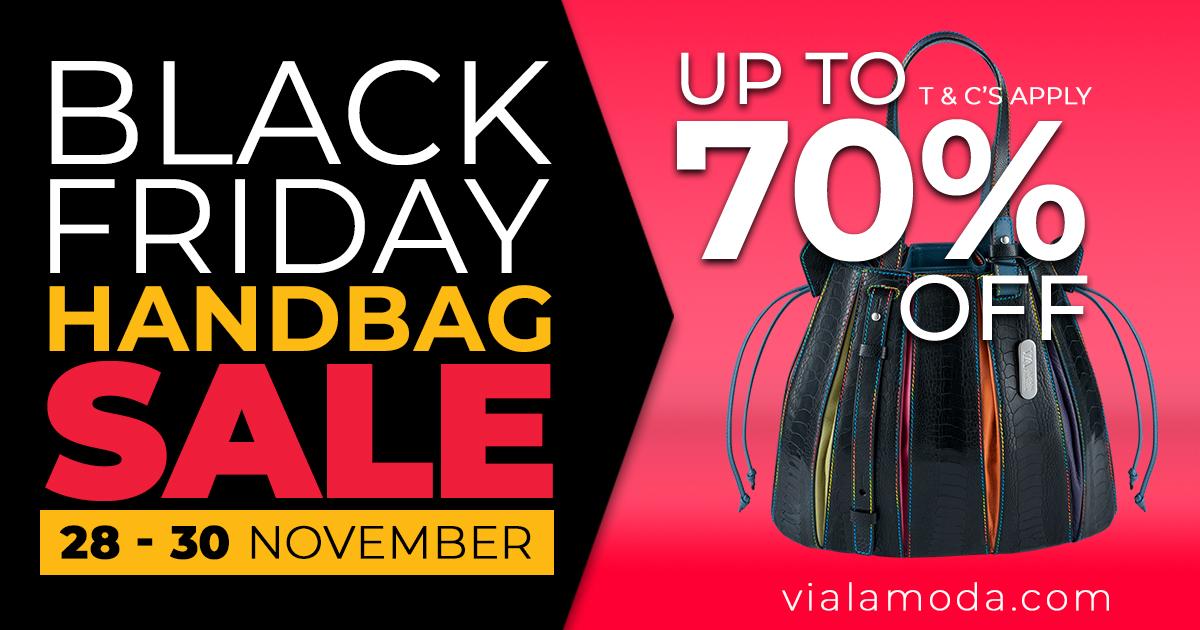 Black Friday Handbag SALE - Via La Moda